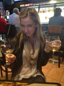 Wine @ the airport... 9:30 am
