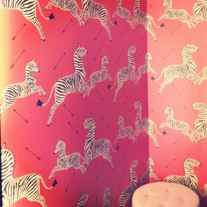 Safari themed dressing rooms. Rawr