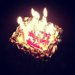 Baby Baskin Robbins cake for my Dad's Birthday