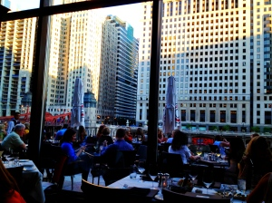 Chicago Cut, a great restaurant on the river.
