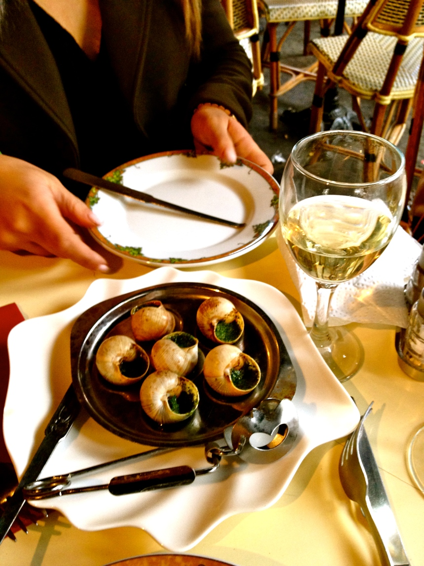 I had this every day. J'adore Escargot!