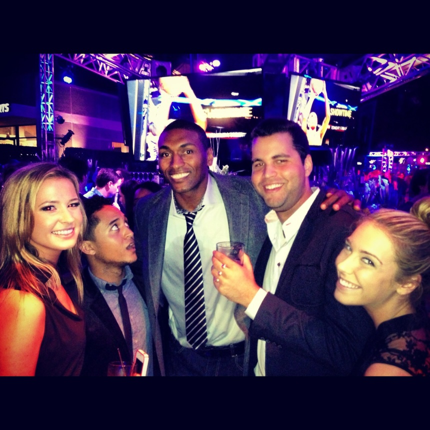 Just us and Metta. Totally normal.