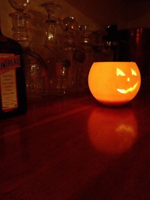 Jack O Lantern near the Jack Daniels