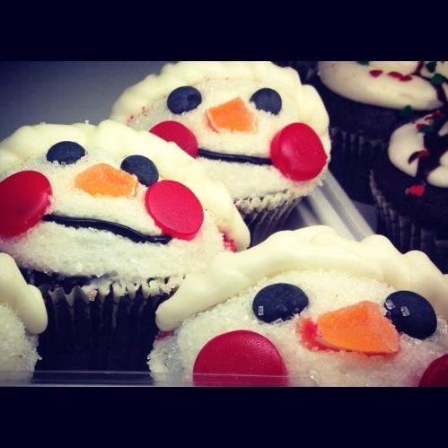 Presh cupcakes at Crumbs