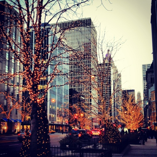 Perfection on Michigan Avenue.