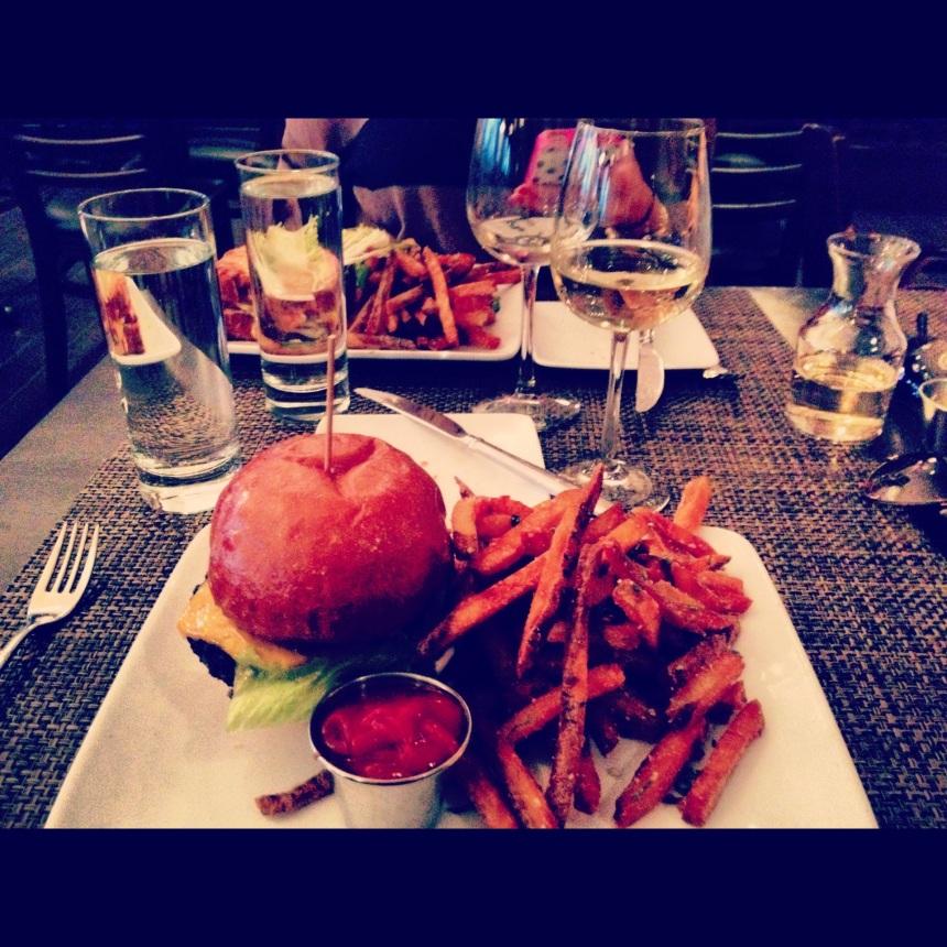 Burger at Bistronomics. Pure heaven. Pure Fat. Pure Love.
