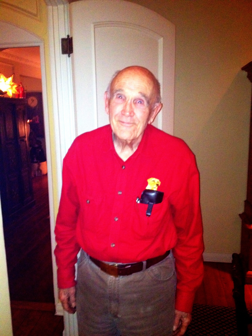 Yes that is a labrador on my Grandfather's polo.