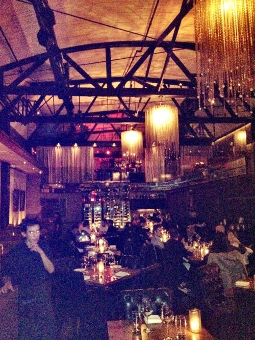 An evening at Eva Longoria's Beso