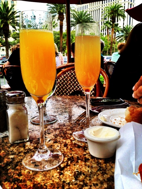 Brunch at Mon Ami Gabi