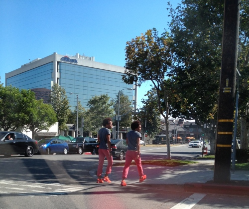 Les Twins- Spotted in Brentwood