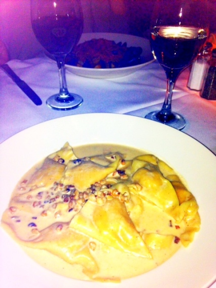 Pumpkin Ravioli from CaBrea