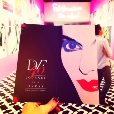 DVF exhibit at LACMA