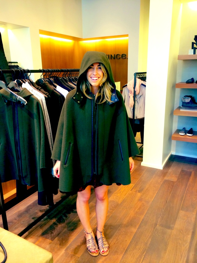 I am going to create a go-fund me for this Vince cape. #peasant