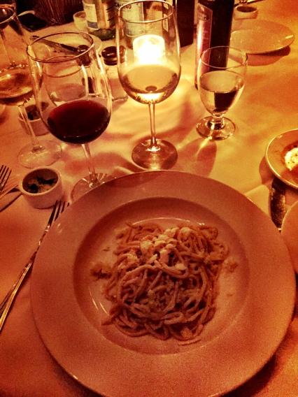 My favorite pasta at my new favorite restaurant Pecorino